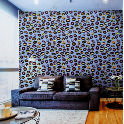 PVC Project And  Home Colorful Wallpaper