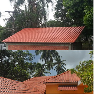Sound Insulation Roma Style Roof Tile
