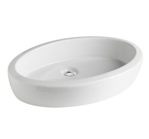 oval wash basin