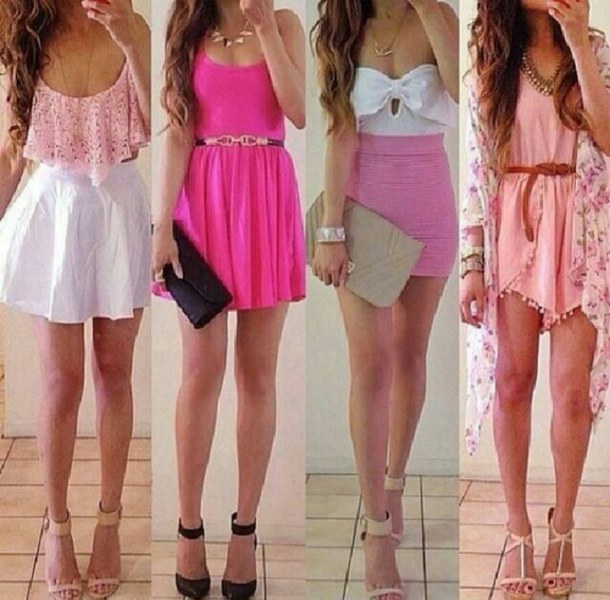 Shoes and Dresses