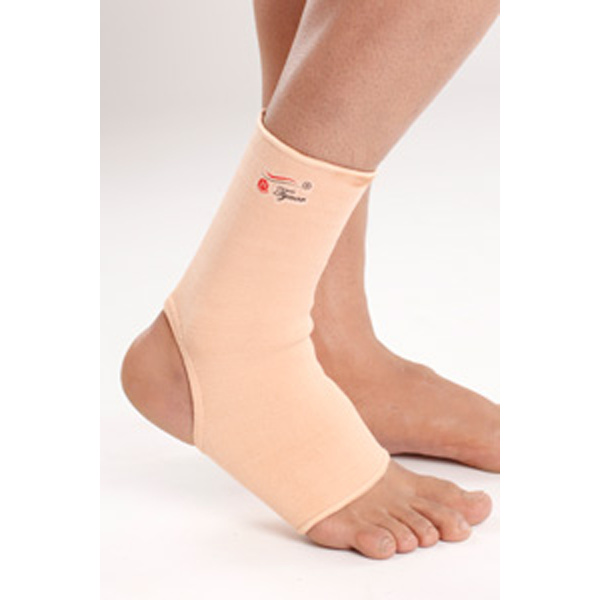 Anklet tubular supports