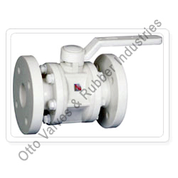 pp ball valve flange end