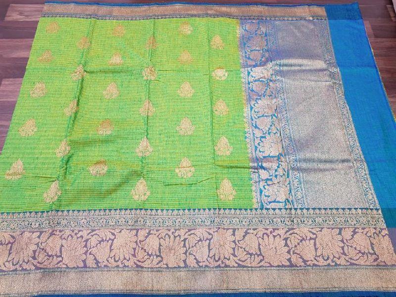Pure Handloom banaras kadiyal dupion silk sarees