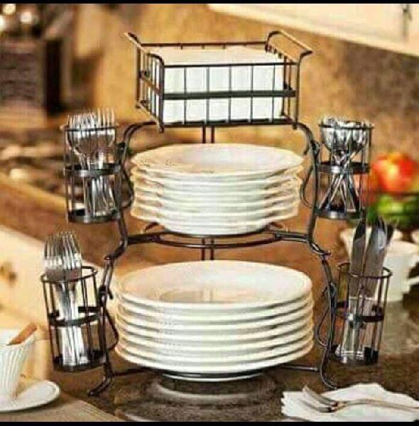 Stackable Buffet Caddy Set