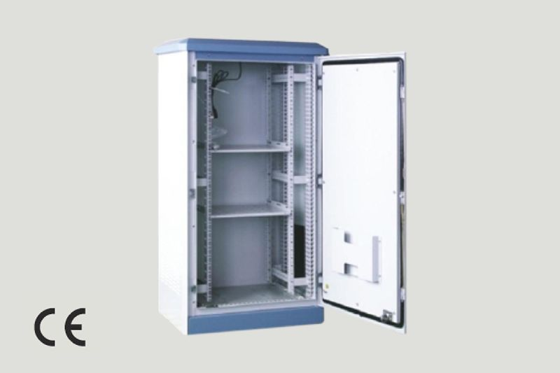 Floor Standing Single Section External Cabinet
