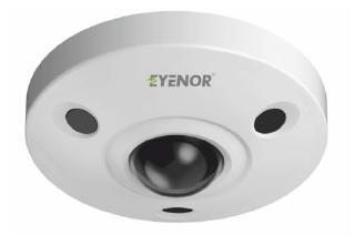 IR IP Vandal Proof Hemispheric Dome Camera
