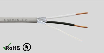 Overall Foil Shielded Rated Cable