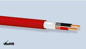 Shielded Power Limited Fire Protective Signal Cable