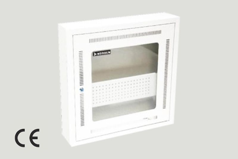 Wall Mount Cabinet Single Section - Recessed
