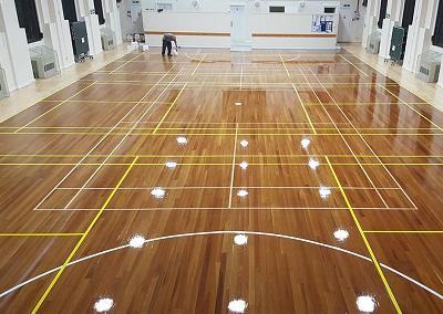 Sports Wooden Flooring Manufacturer In