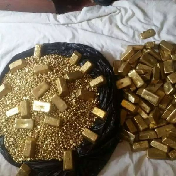 Raw Gold Bar and Nuggets Manufacturer in Bangkok Thailand by