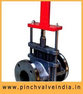 Hydraulic Actuator Pinch Valve Manufacturer in Gujarat India