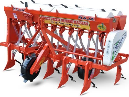 Dirict Paddy Sowing Machine (DSR)