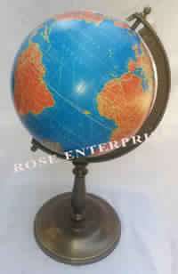 Antique Look Nautical Maritime World Globe