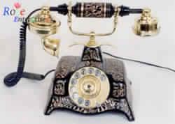 Black Antique Nautical Telephone