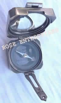 Brass Rectangular Brunton Compass