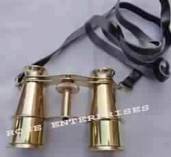Nautical Brass Pocket Binocular
