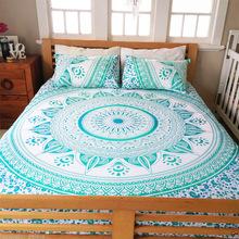 Mandala Throw Duvet Cover With Pillow Case