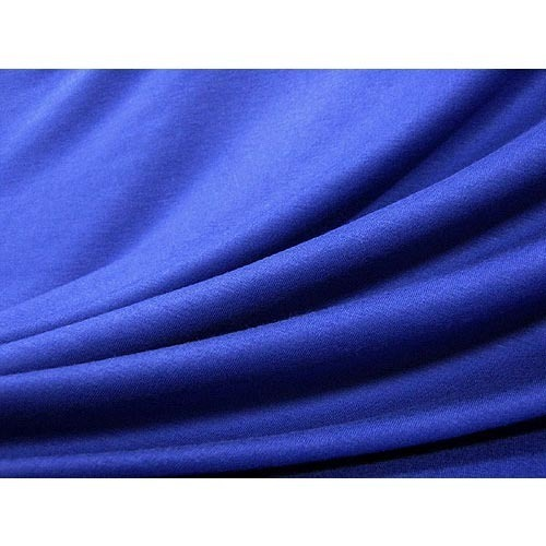 Blue Micro Polyester Fabric