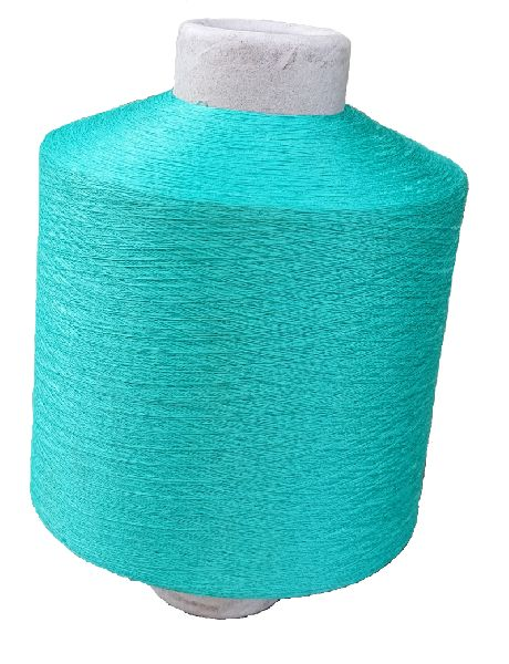 Plain Polyester Dyed Yarn