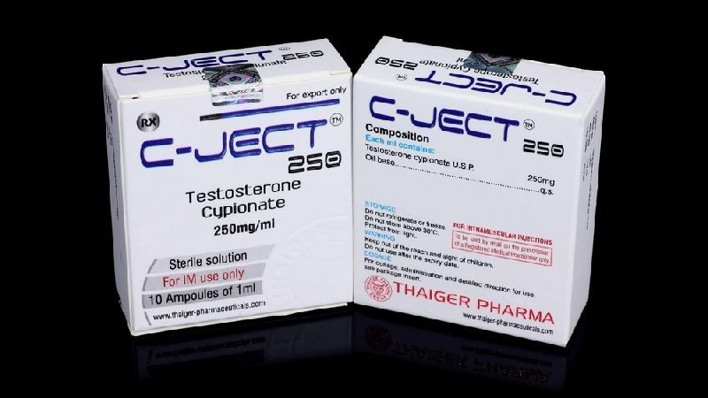 C-JECT 250 (TESTOTERONE CYPIONATE 250Mg/ML) by TRADE SMART UNIVERSAL c-ject testoterone