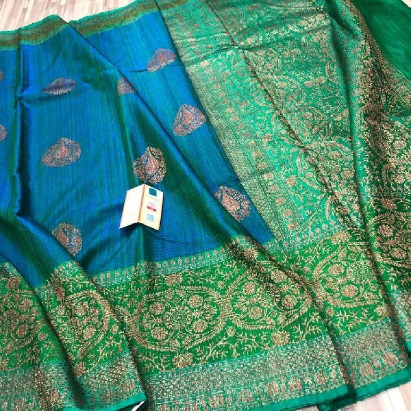 handloom banarasi tussar silk sarees