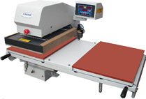 Automatic double bed machine