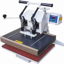 Double bed heat press Printer
