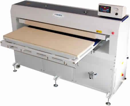 Flat type heat press