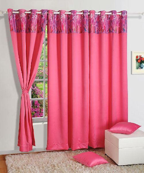 ShalinIndia Semi Blackout Polyester Curtain Panels
