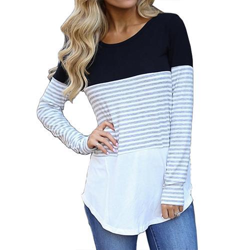 Ladies Full Sleeve Round Neck T-Shirts