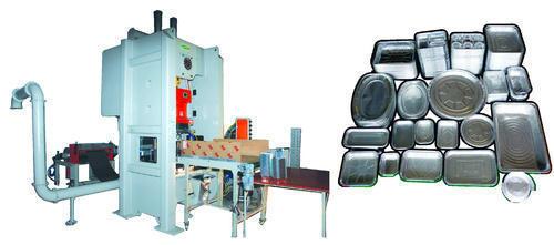 SAPP Aluminium Foil Container Making Machine