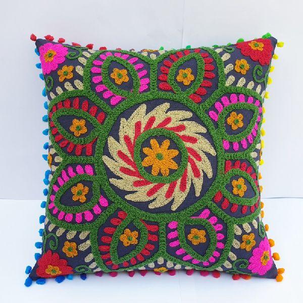 Vintage Square Suzani Cushion Cover (SSCSQ11053)
