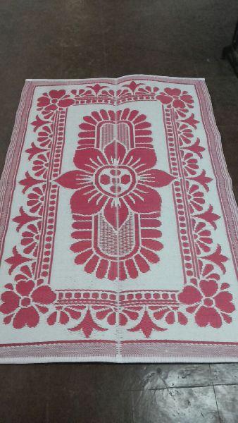 White Plastic Floor Mat