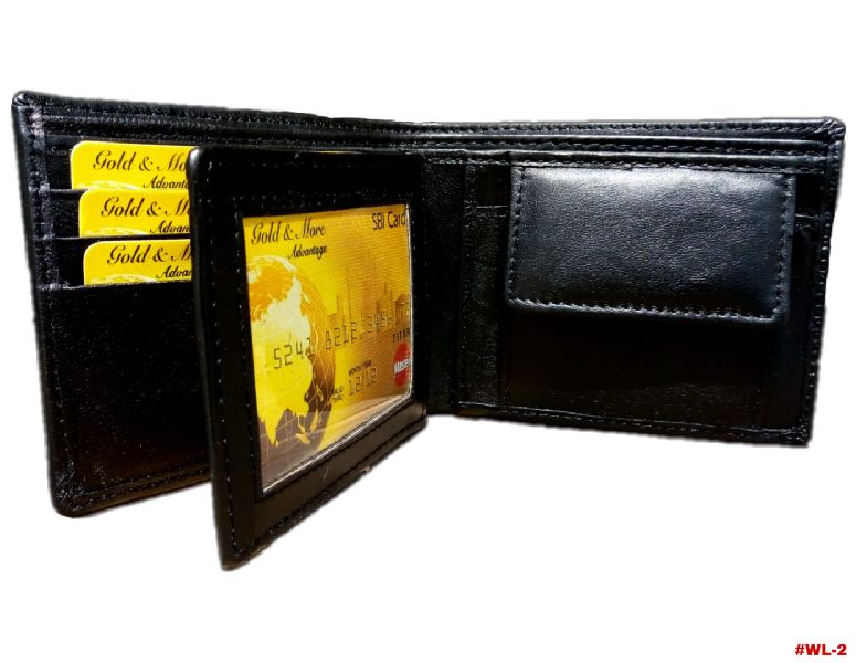 Men Leather Wallet (wl 2)