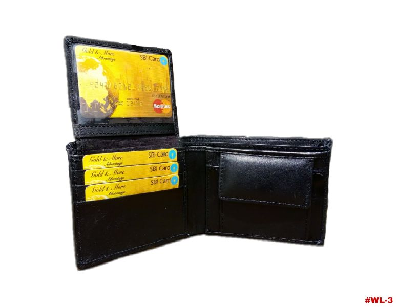 Mens Leather Wallet (wl 3)