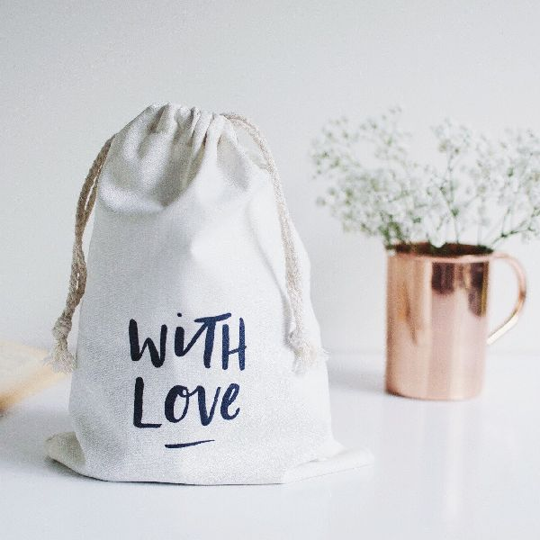 Canvas Gift Bags