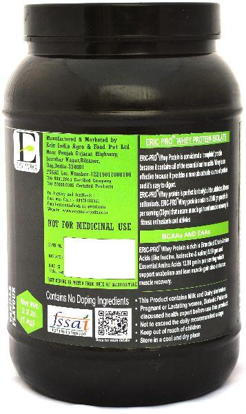Vaniila Whey Protein Isolate Powder (EP-30)