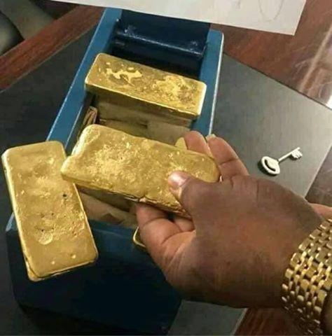Au Gold (gold bars)