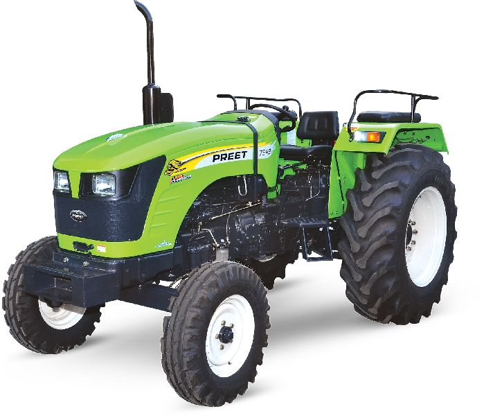 PREET 7549 - 75 HP Agricultural Tractor