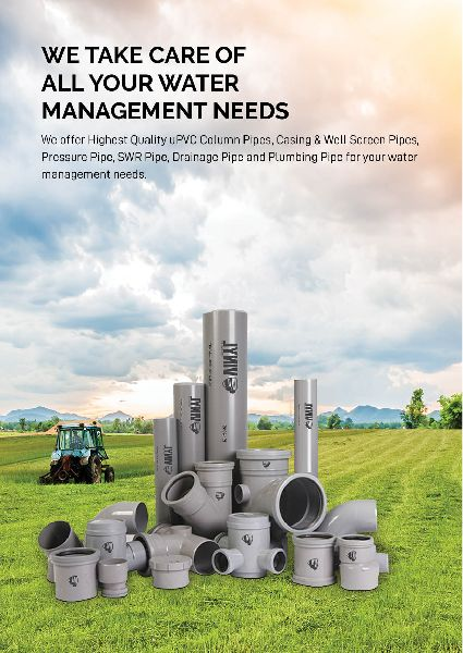 Super Heavy Duty Vinyl Super Strong 25 Mm Agri Pipe For Sale, Quality: Pn12.5
