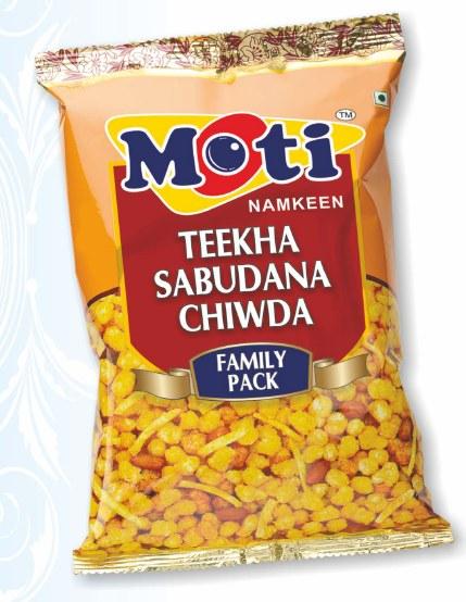 Teekha Sabudan Chiwda