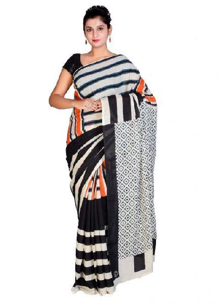 Bagru Printed Cotton Sarees