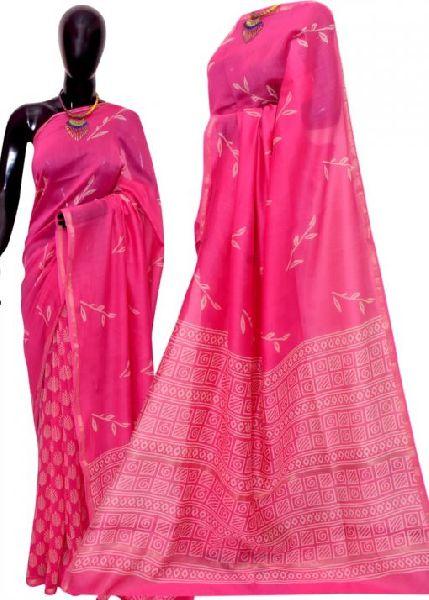 Chanderi Cotton Silk Sarees