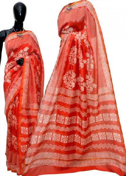 Party Wear Chanderi Silk Sarees