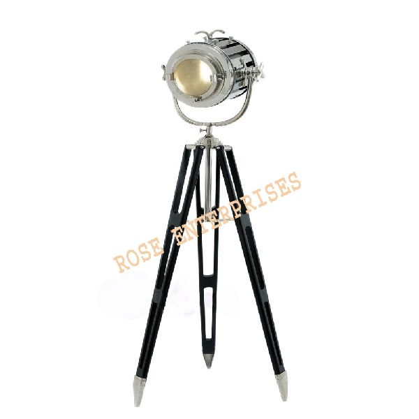 Hollywood Studio Nautical Spot Search Light Tripod Floor Lamp