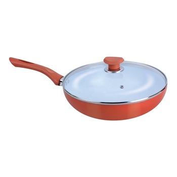 Ceramic Coated Taper Cooking Fry Pan