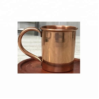 Copper Shot Glass with Handle