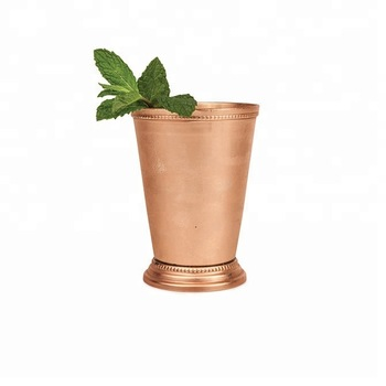 Lemon Water Tumbler with Copper Finish