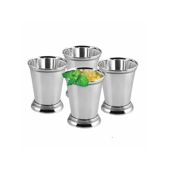 Lemon Water Tumbler with Silver